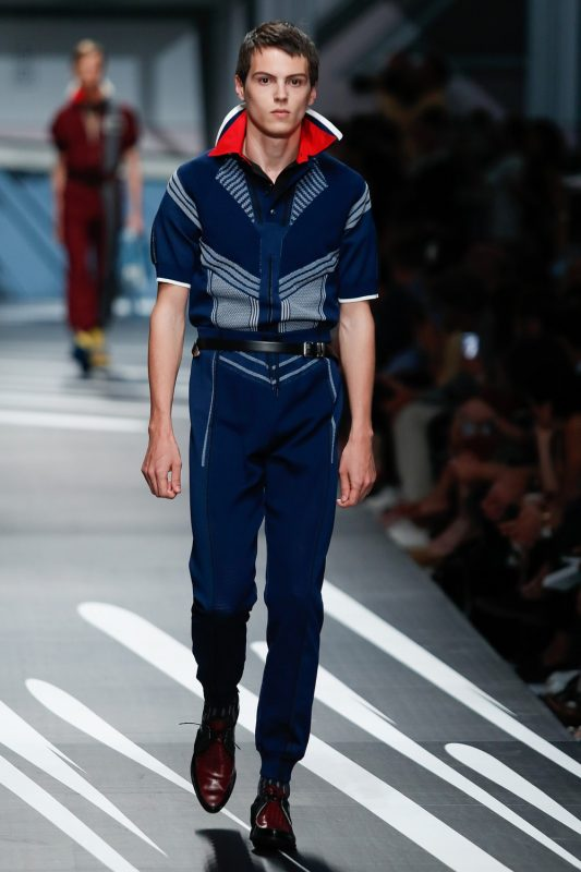 Mode homme defile Prada 2018