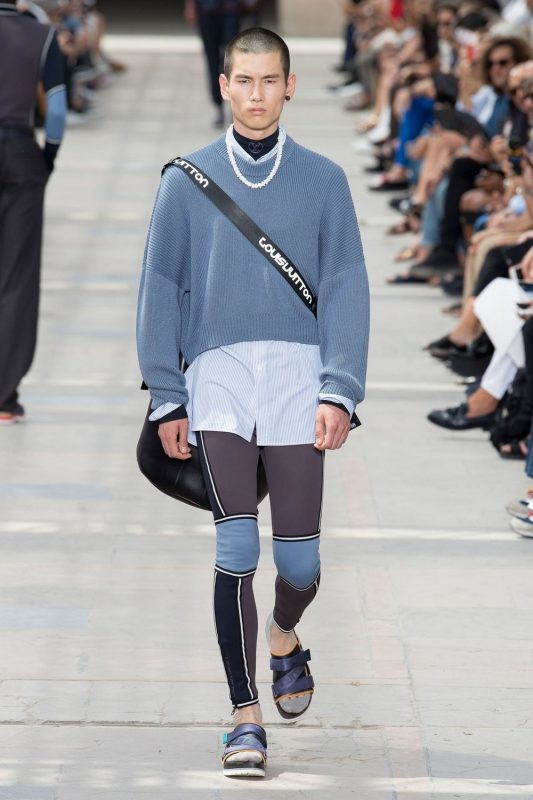 mode masculine Louis Vuitton 2018