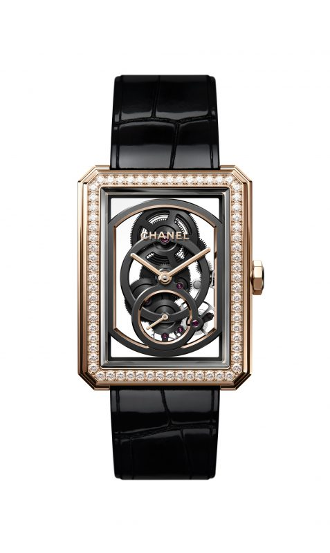 chanel montre boyfriend baselworld 2018