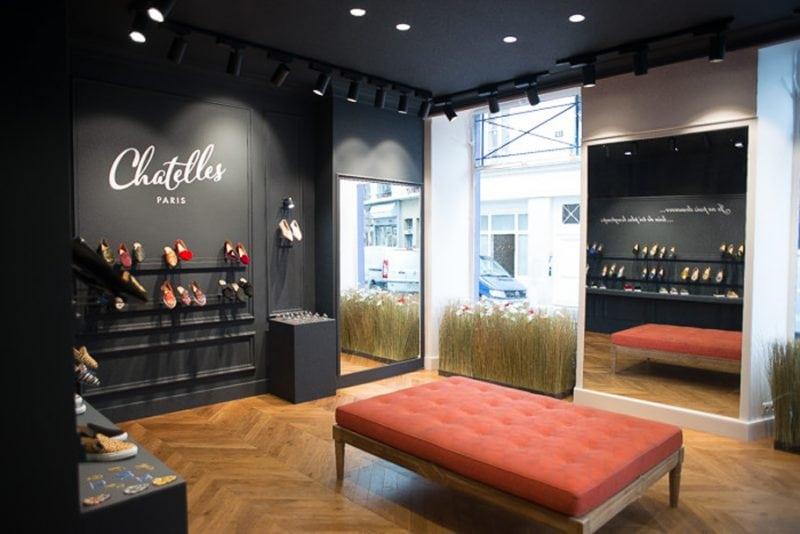 chaussures chatelles boutique paris