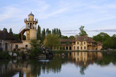 La Maison de la Reine dans le parc du château de Versailles