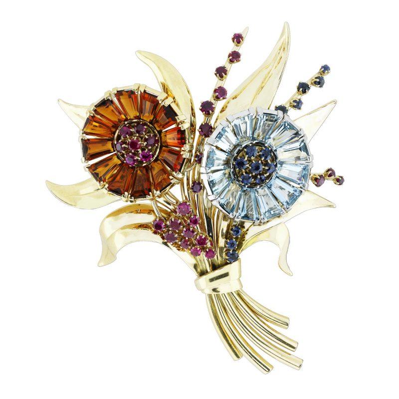 Van Cleef Arpels exposition joaillerie paris bouquet topazes