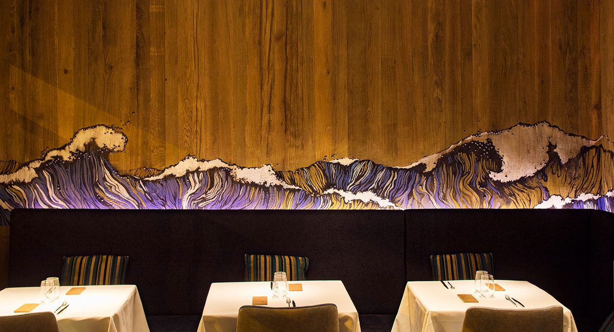 Fine Dining Restaurant 7th Petrossian Paris Capitale