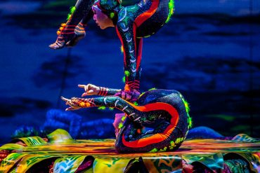 Cirque du Soleil plants its Totem in the Bois de Boulogne