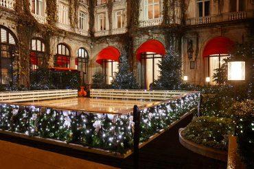 Les Palaces de Paris en fêtes
