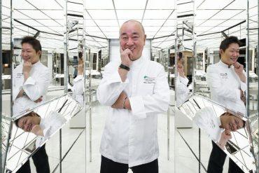 Le chef Nobu Matsuhisa, de retour au Royal Monceau