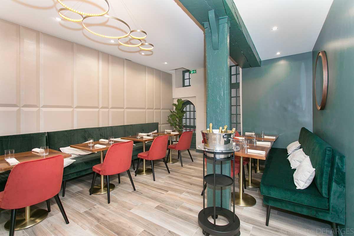 restaurant tendance affinit 5e paris capitale. Black Bedroom Furniture Sets. Home Design Ideas