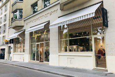 agnès b. inaugure une nouvelle boutique