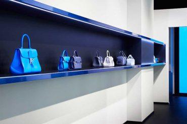 La nouvelle boutique Delvaux rue Saint-Honoré