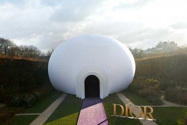 L'installation Dior au Musée Rodin ouverte au public