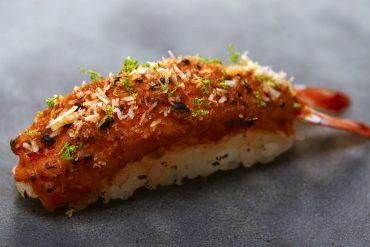 Sushi Satay du Chef Gregory Marchand