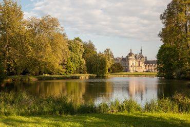 Les jardins d'exception des châteaux autour de Paris