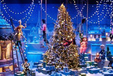 Noël, ensemble au Printemps