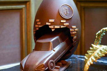 L'Hôtel de Crillon présente son oeuf de Pâques 2021