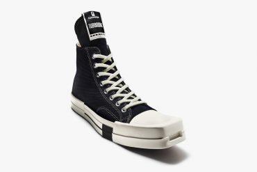 Converse x Rick Owens une collaboration autour des sneakers