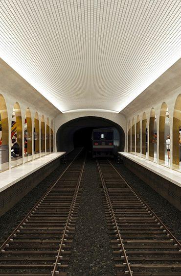 La station de métro Croix-Rouge