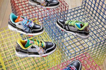 Les sneakers LV TRAINER de Louis Vuitton