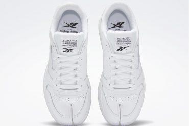 Maison Margiela x Rebook et la sneaker LEATHER TABI