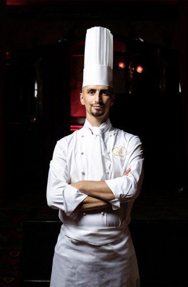 Maxim's, le chef Nicolas Castelet