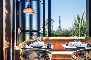 Mun, le restaurant sur le toit des Galeries Lafayette Champs-Elysées