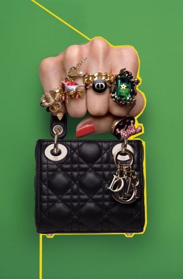Mini sac Dior pour un… maxi effet