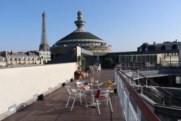 La terrasse panoramique du musée Guimet