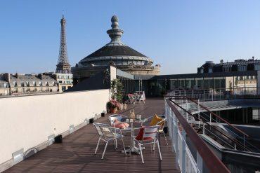 The panoramic terrace of the Musée Guimet