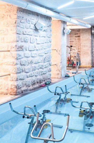 Aqua-cycling chez Aqua By