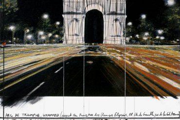 L'Arc de Triomphe empaqueté De Christo et Jeanne-Claude
