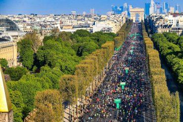 Paris au pas de course avec le Marathon 2021