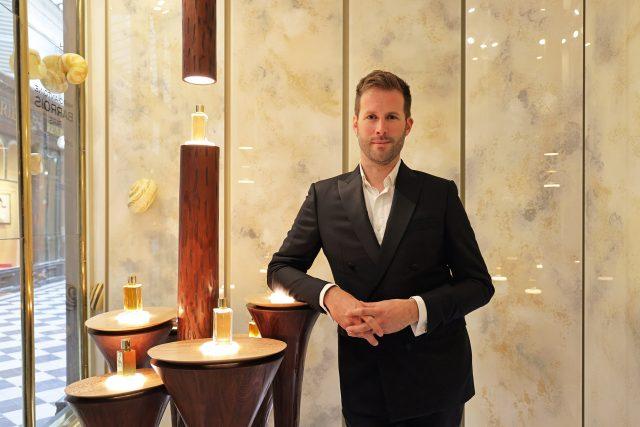 Marc-Antoine Barrois, Une nouvelle boutique parfumée