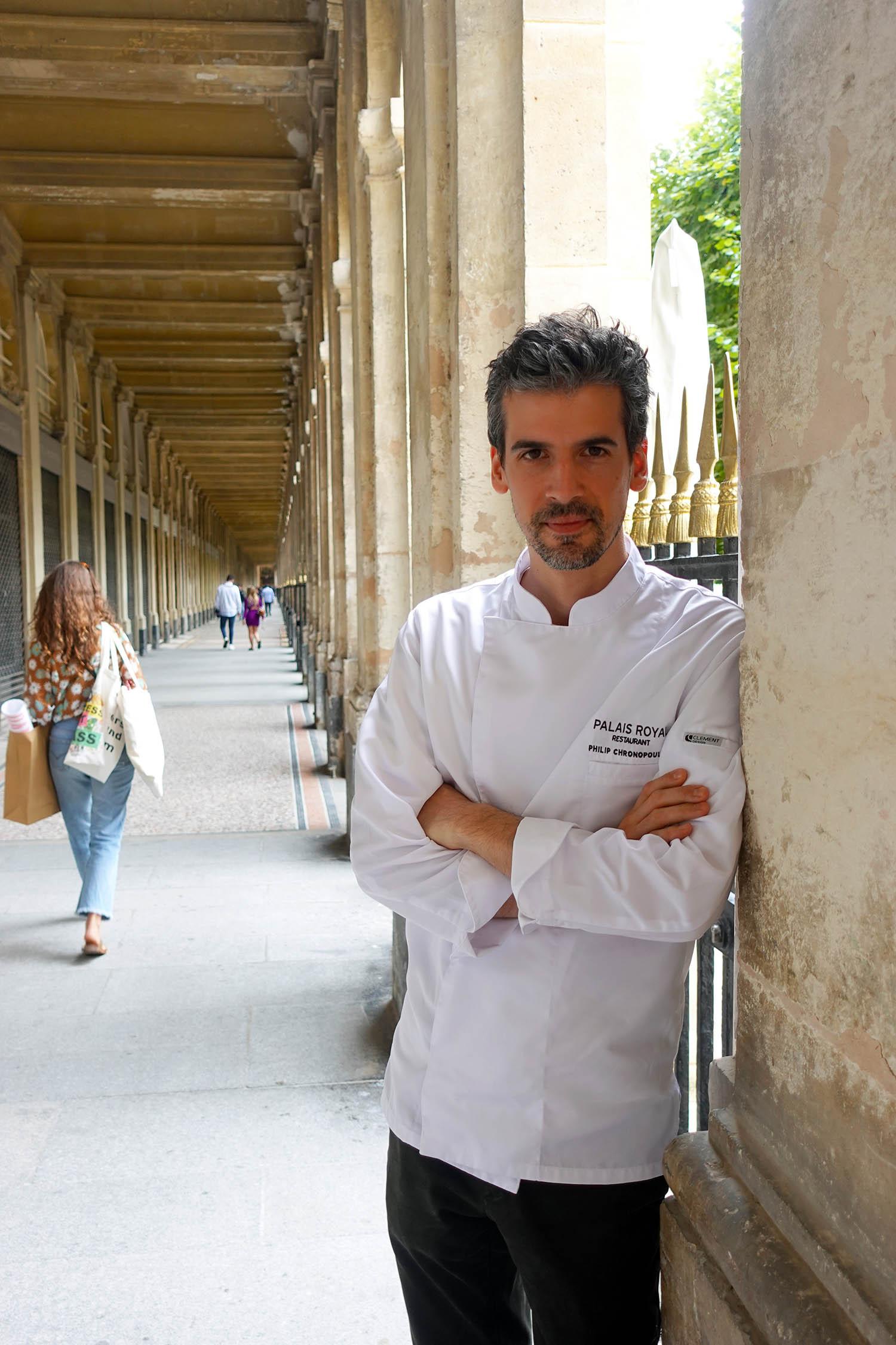 Philip Chronopoulos chef palais royal restaurant