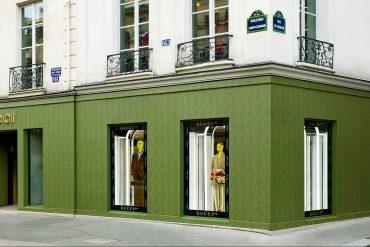 Gucci dévoile Saint Germain une vitrine parisienne d'un avenir florentin